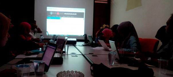 Pelatihan Penggunaan Web Dosen di Prodi Biologi FST